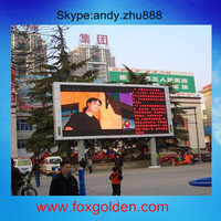 3D LED channel letter shop sign board / P16 Full-Color Outdoor LED Display Advertising Sign