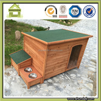 SDD0603 Outdoor Wooden dog kennel buildings