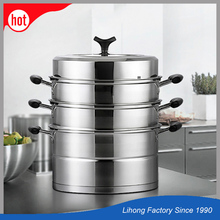 High Quality Multi-Purpose Food Steam Pot Four Layer Steamer