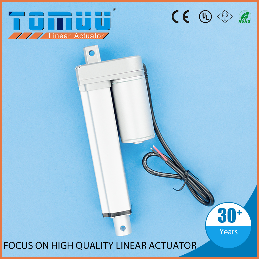 TOMUU customization supported 12v 24v small electric linear actuators