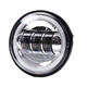 "4.5""inch led fog light for harley moto, round led foglight 4.5 inch"