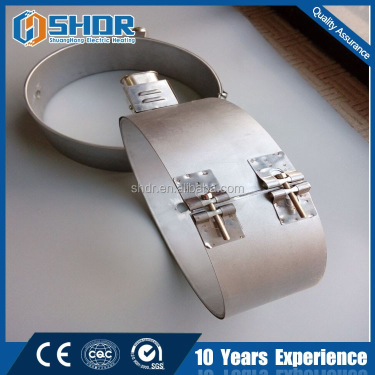 Mica Clamp Band Heater with Stainless Steel Plug