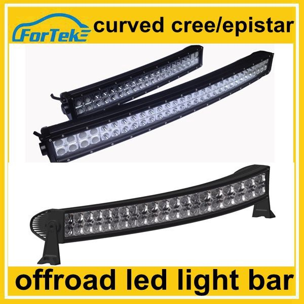 large scale China manufacturer curved off road led light bar 4x4 wheel parts 120w 180w 240w 300w