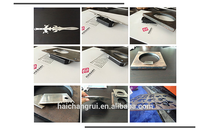 High precision Automatic CNC 500w carbon fiber laser cutting machine for metal