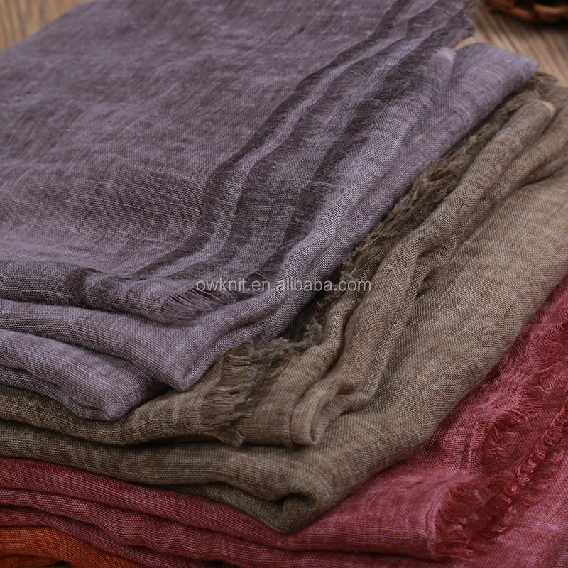 Wholesale cheap solid color plain hot saudi arab malaysia pashmina chiffon hijab