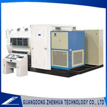 Superior winding horizontal dielectric film plasma sputtering machine for flexible circuit board
