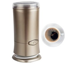 2017 new model coffee bean grinder, electric mini electric coffee mill with blade