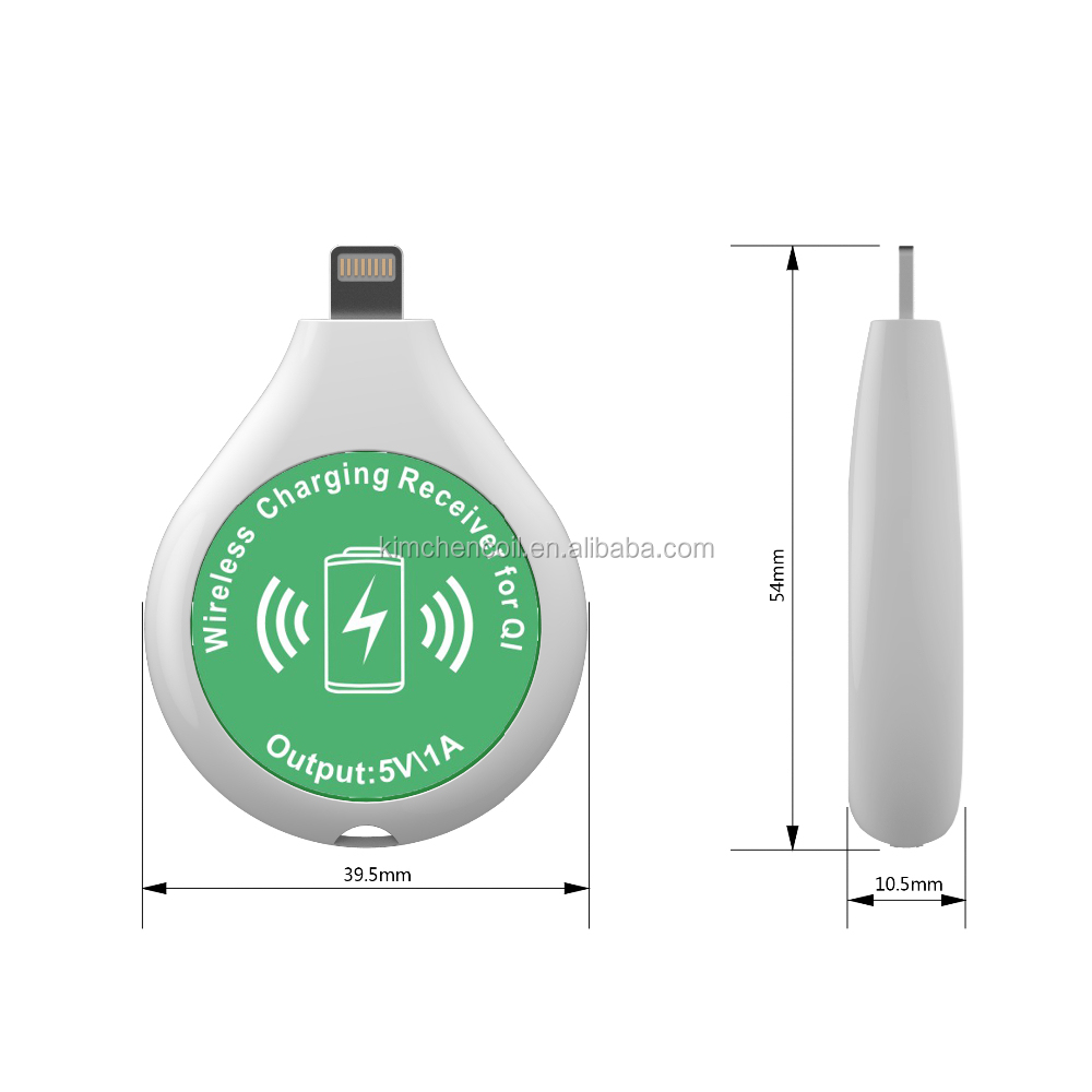 wireless charging technology qi universal wireless charger receiver for I PHONE