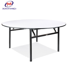 hotel furniture banquet used pvc dining table