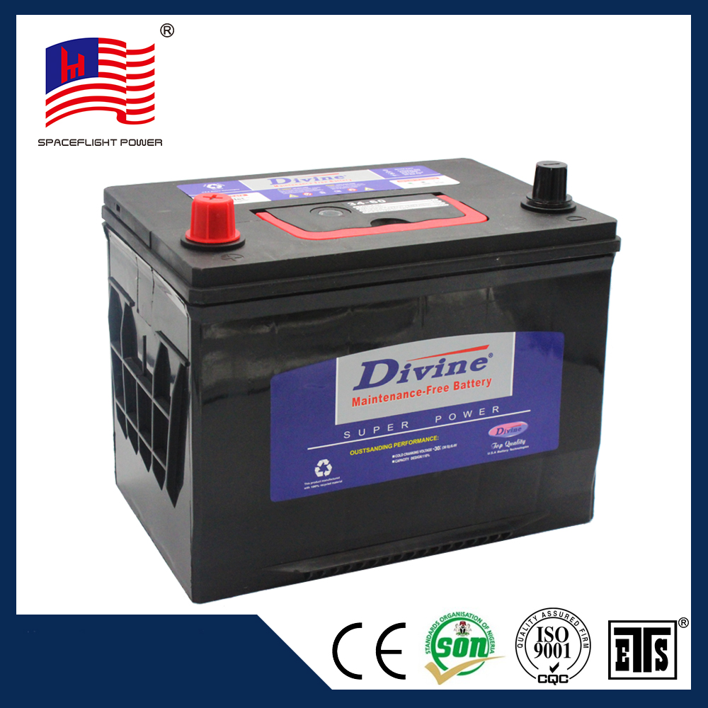 DIVINE 34-60 JIS standard Maintenance Free car battery