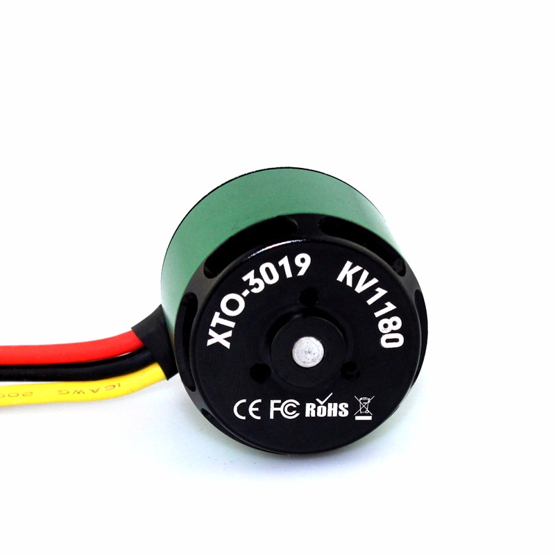 XTO-3019 1180kv X-Team Outrunner DC Brushless Electric Motor for UAV RC Airplane