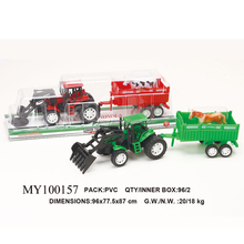 plastic tow truck toy for kids , cheap plastic farm animal toy