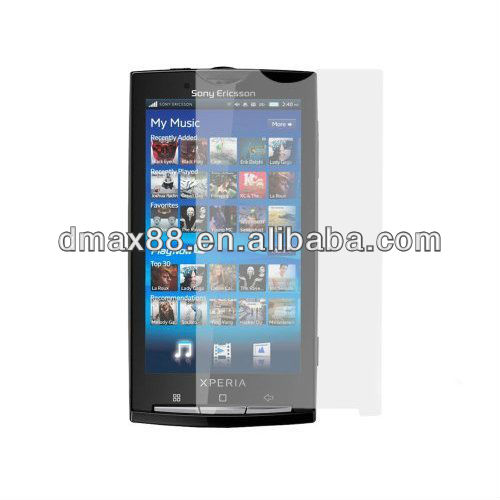 Clean screen protectors for cell phone for Sony ericsson xperia x10 oem/odm(Anti-Glare)
