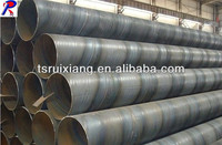 manufactory spiral welded steel pipe from China