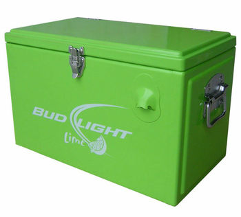 metal cooler box,metal cooler box with lock,cooler box with bottle opener,locking cooler box,Heavy Duty Cooler Box