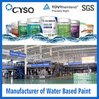 waterborne algae weather resistant paint for coatings , anticorrosion anti acid coating