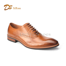 Hot sell high class mens leather dress shoes genuine leather dress shoes