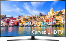 "UHD 4K CURVED LED TV 65"" 3D SMART TV good panel from Auo CMO"
