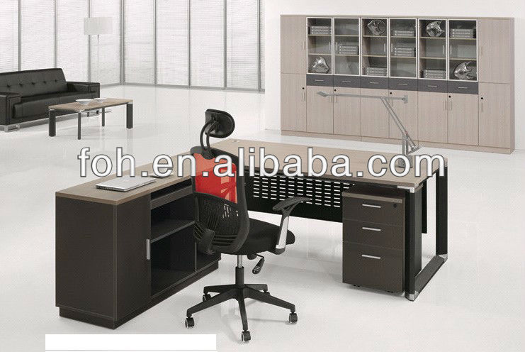 Hot Sale Grey Employee Tables Office Furniture FOH-BC18-D