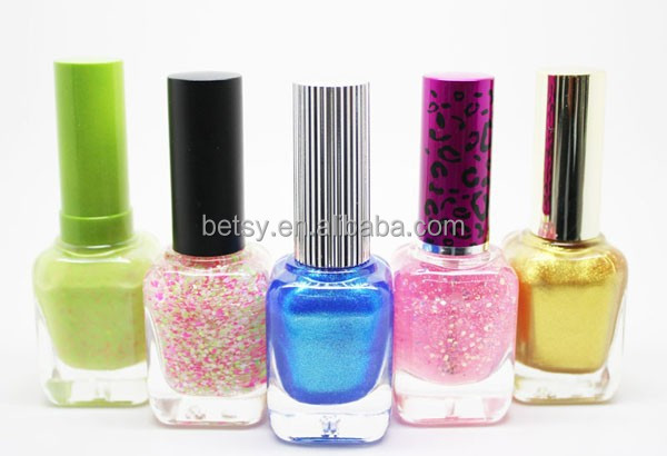 Cheap Wholesale Top Lady Makeup Private Label Glitter Nail Polish