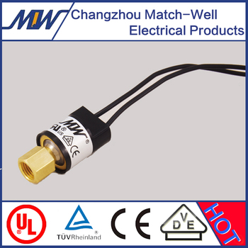 match-well auto-reset pressure switch for compressor