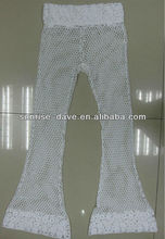 ladies crochet fashion long pants for summer