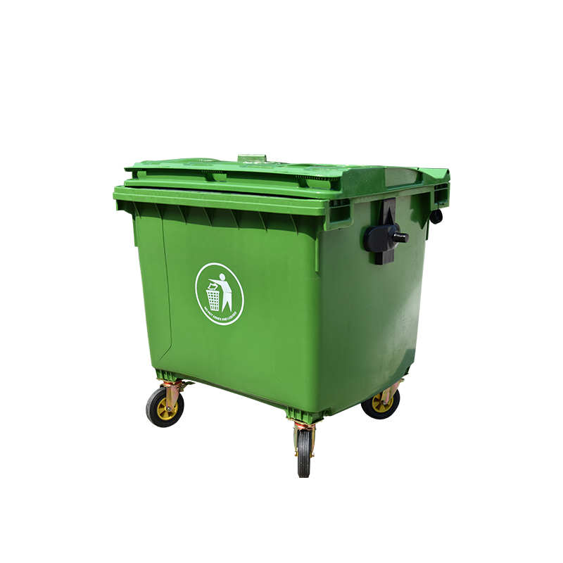 Standard size 660L large garbage bins for garden use