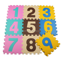 Numbers EVA Educational Puzzle Mats from BSCI factory