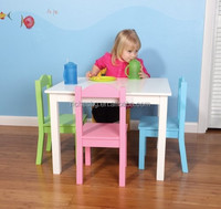 eco-friendly MDF Children and Kids Table and Chairs Set