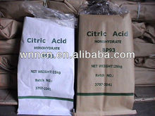 food and drink industry Citric acid monohydrate/sour agent and preservative antistaling agent