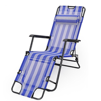 New 2016 folding footrest lounge chair Cheap Folding Deck Chair