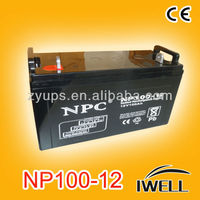 12V Lead Acid Battery UPS Inverter Batteries 12v 100ah exide Battery