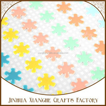 colorful small enamel dots sticker for scrapbooking