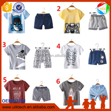 new products 2016 baby boys clothes shirts shorts kids clothing fabric cotton frock suit design sets boy clothes