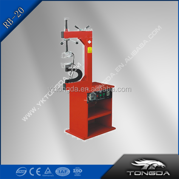 Tongda RB-20 BOX TYRE VULCANIZER cheap tyre vulcanzing machine for sales