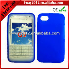 keystroke silicone cover for blackberry q5 case