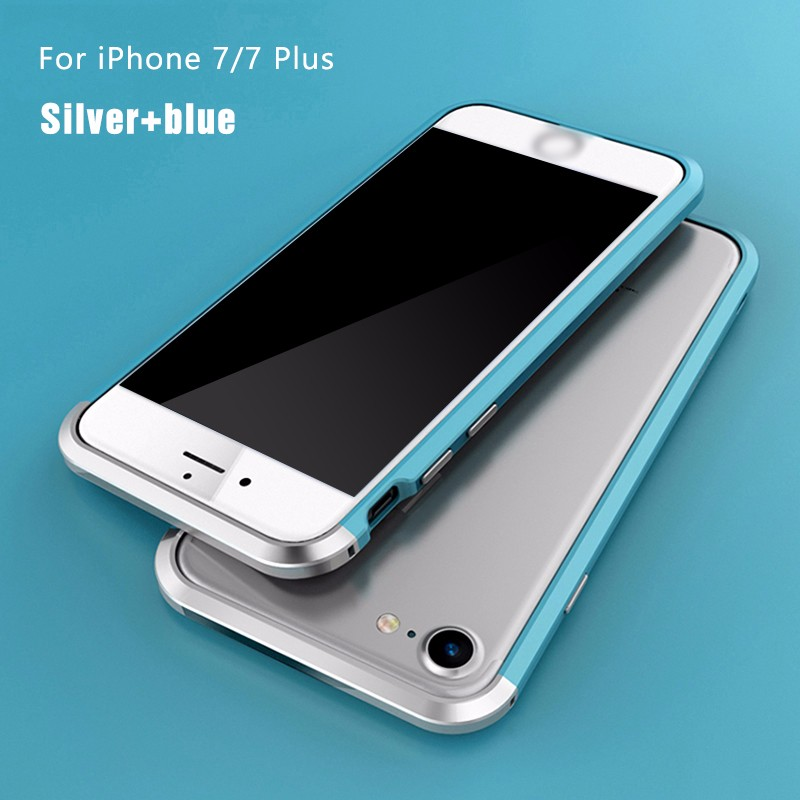 Ultra thin for iphone 7 plus bumper case,plastic aluminum case for iphone 7