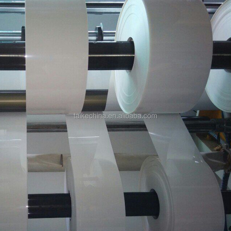 high quality plastic raw material thin PC film white PBT Valox FR-1 roll
