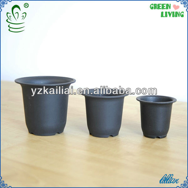 new product for 2014 Plastic flower pot garden pot plastic flowerpot beautiful pot KLBR80
