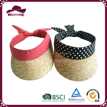 Wholesale China best sales cute summer straw visor