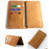 wallet genuine leather flip double phone case cover pouch bags for coolpad modena note lite 1 2 3 e501