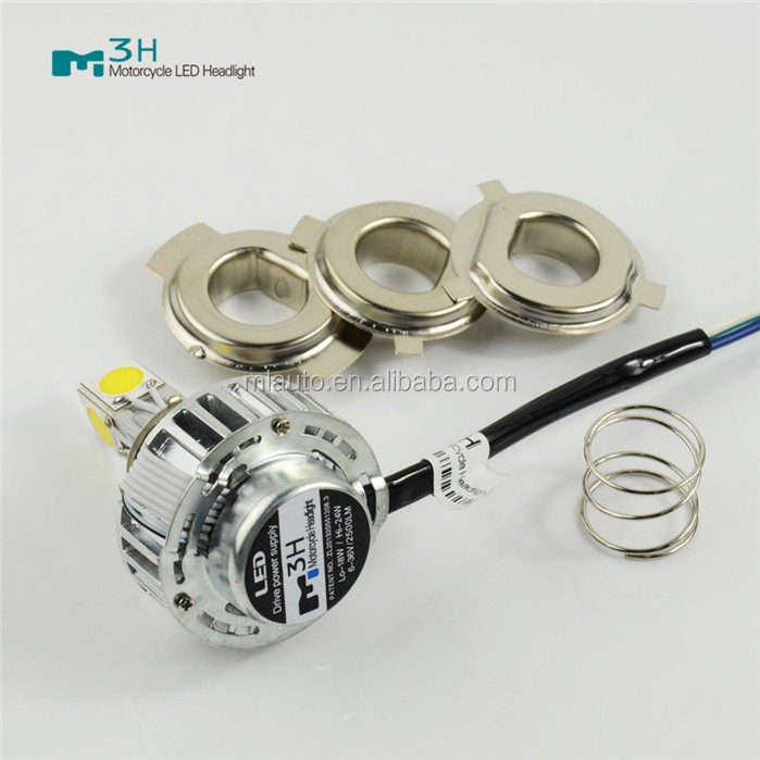 high power led headlight bulb M3H 24w 2500lm led motorcycle headlight