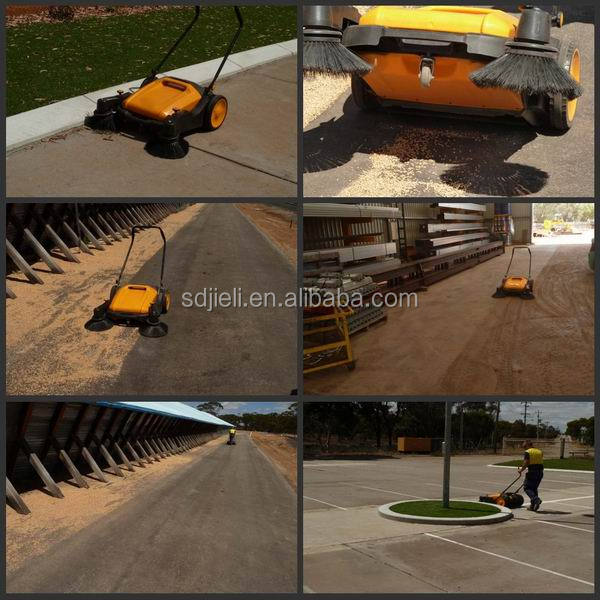 outdoor road sweeper