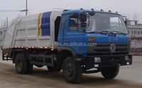 2017 popular dongfeng diesel 8 cbm swing arm garbage truck with GCC