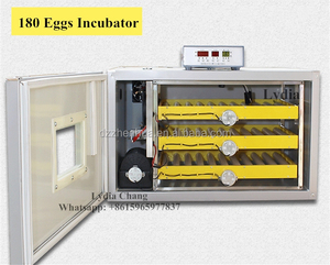 automatic 180eggs incubator with CE, chicken eggs incubator /egg incubator 180 chicken eggs (whatsapp: +8615965977837)