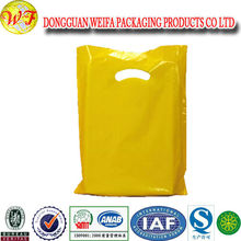 Custom Printed Luxury Boutique Plastic Shopping Bag With Hook wholesale