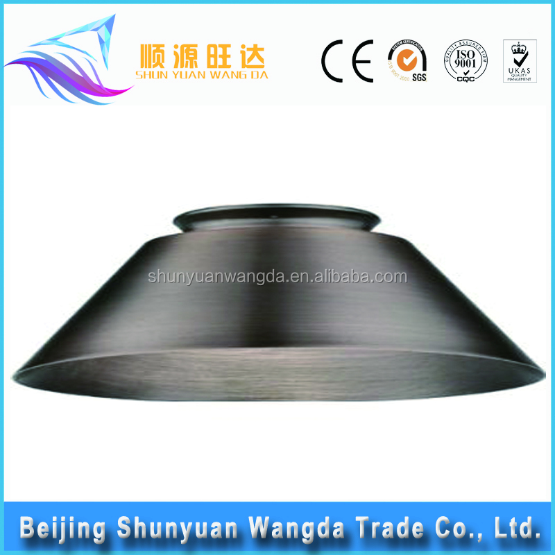 Custom metal stamping parts for ceiling lamp manufactures of domes lampshade
