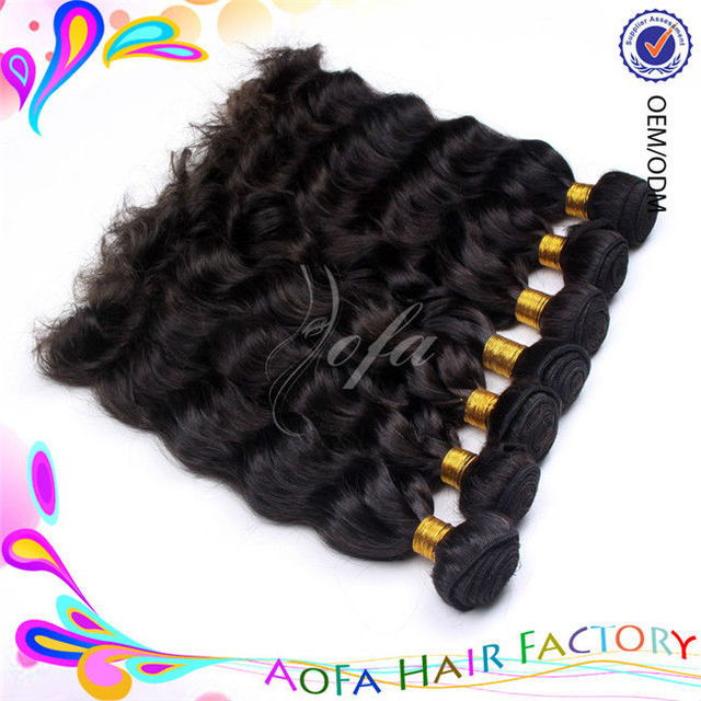 Hot sale in America 5A grade natural color Malaysian cuticle aligned hair