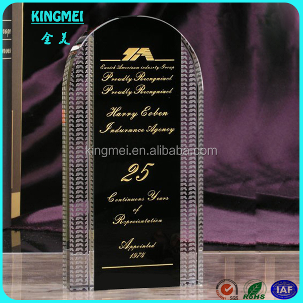 Beautiful 3d laser crystal trophy & crystal award, crystal cup, 3d laser crystal