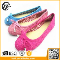 Sample free China supplier latest flats cheap shoes for women 2016